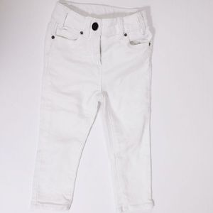 J. Crewcuts Everyday White Skinny Jeans Pants Baby